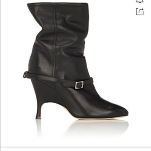ALCHIMIA DI BALLIN Kari Leather Ankle Boots